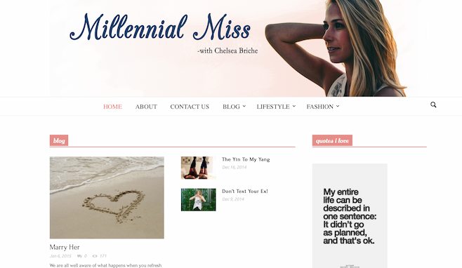 Millennial Miss
